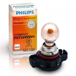 Ampoule PHILIPS PSY24W SILVER VISION 12V 24W PG20/4